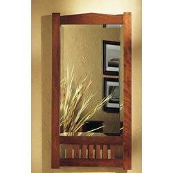 Jensen 9000C Mission 2-Door Medicine Cabinet, 17-Inch by 33-Inch