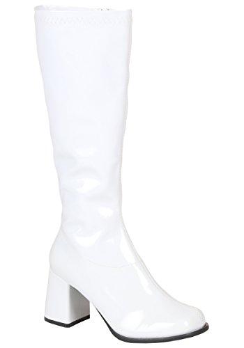 White Go Go Costume Boots