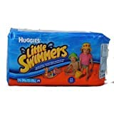 Huggies Little Swimmers Disposable Swim Diapers Medium Pk of 11 diapers (Characters may very) by Huggies