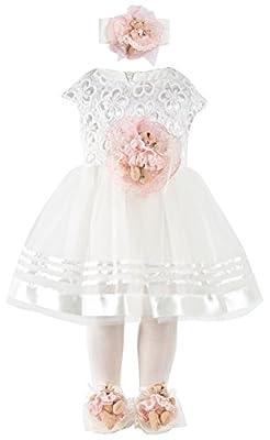 Newborn White Lace Dress from Lilax