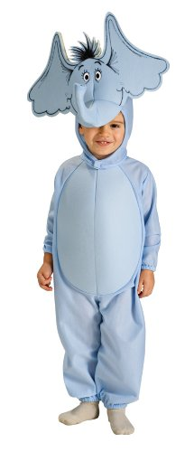 Child's Horton the Elephant Costume Size Small (4-6)