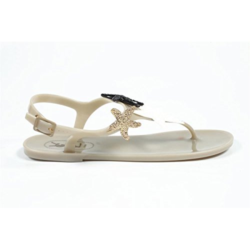 sandalo donna Yves Saint Laurent ladies flip flop sandal 287181 gfv00 9618 -- 40 eur - 10 us