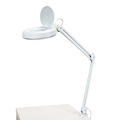 Kenley Fluorescent Daylight Magnifying Lamp Workbench