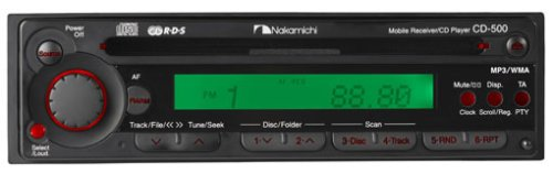 CD500 - Nakamichi Am/fm/cd/mp3 Player