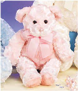 Plush Strawberry Swirl Bear 13