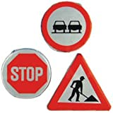 Chocolate Road Signs (pack of 10)