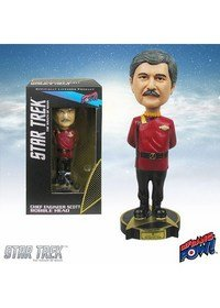 Star Trek II: The Wrath of Khan Chief Engineer Scotty Bobble Head