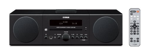 Yamaha MCR-042BL Desktop Audio System (Black)