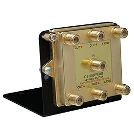 Cooper Wiring Devices Csh6V1 6 Way Video Distribution Module, 1Ghz