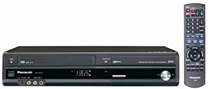 Panasonic DMR-EZ37VK DVD-Recorder/VCR Combo with ATSC Tuner Black