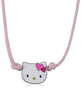 Hello Kitty - K4C008F - Collier avec Pendentif Fille - Argent 925/1000