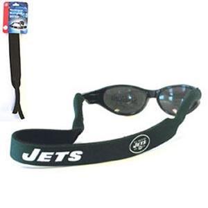Buy New York Jets Neoprene Strap Holder Croakies for Sunglasses or Eyeglasses Officially Licensed NFL Football Team Logo by Siskiyou