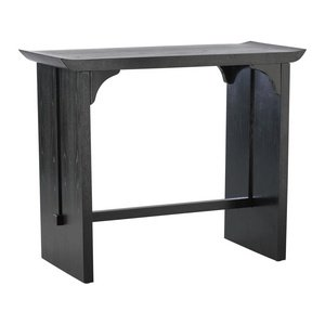 Cheap Cyan Lighting 01765 Lotus – 18″ Console Table, Distressed Black with Red Accents Finish (B005LS2AHM)