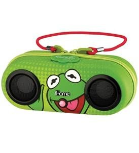 Kiddesigns DK-M13 Kermit Water Resistant Portable Stereo maggie and kermit hollywood