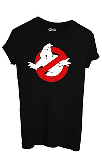 T-Shirt GHOSTBUSTERS - FILM by iMage Dress Your Style - Uomo-S-NERA