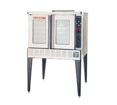 Full Size - Bakery Depth Gas Convection Oven - One Base Section With 25 Inch Stainless Steel Legs And Draft Diverter Or Draft Hood -- 1 Each.