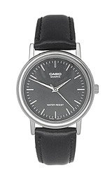 Casio Men's Leather watch #MTP1095E1A