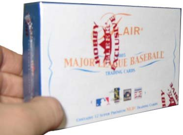 2005 Fleer Flair Baseball Cards Hobby Box (Pack)