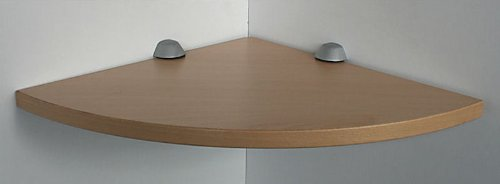 Duschablage Ecke : RH?N Wandregal Ecke Buche 35 cm mit Clip M blau / Board Eckablage
