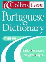 Collins Gem Portuguese Dictionary English Portuguese Portuguese English Pocket sizeDictionaries Collins