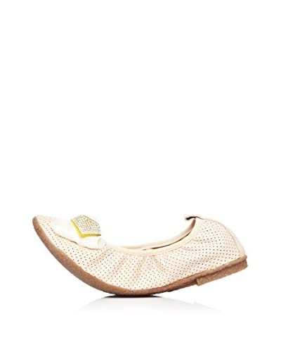 Bueno Shoes Bailarinas Calado Lazo