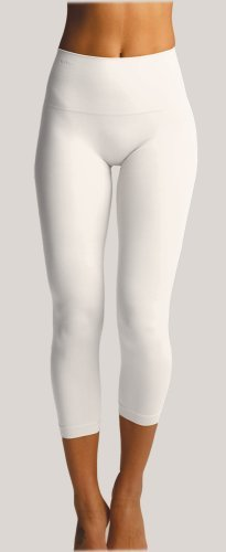 Slim Me SlimMe By MeMoi womens Basic Control High Waisted Legging - White, Medium at Sears.com