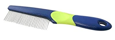Fine Dog Comb with Rotating Anti Tangle Pins