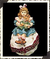 "Boyds Yesterday's Child ""Amy & Sam ... Baby's First Christmas"" Ornament - 1"