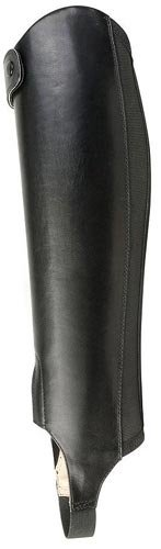 Ariat English Chaps Adult Tempo Small Black Mens