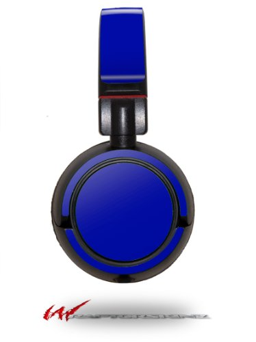 Solids Collection Royal Blue - Decal Style Vinyl Skin Fits Sony Mdr Zx100 Headphones (Headphones Not Included)