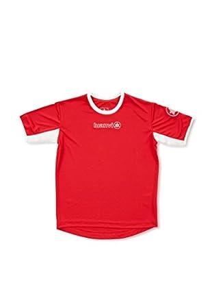 Luanvi Camiseta Manga Corta Pro (Rojo)