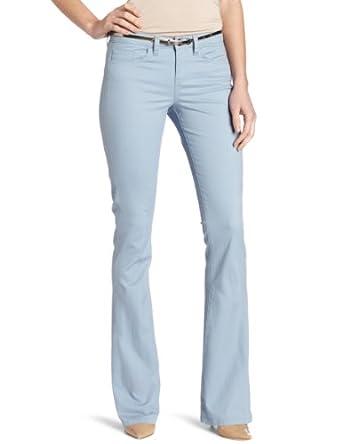 (新品) $36.13 Calvin Klein Jeans Women's Skinny Flare Jean 女款蓝色纯棉休闲裤