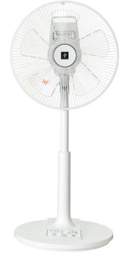 SHARP【プラズマクラスター搭載】リビングファン ホワイト系(リモコンタイマー付き)PJ-B3CLL-W