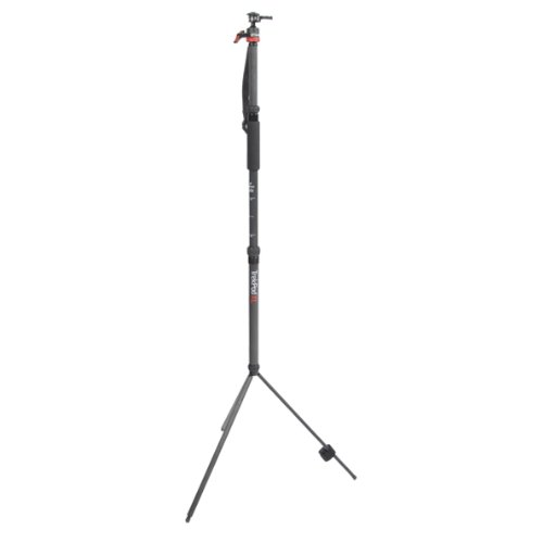 Trek-Tech TrekPod XL Carbon Fiber Monopod/Tripod/Hiking Staff with MagMount Pro Ball Head for Stabilization of DSLR's, Scopes or Optical Devices