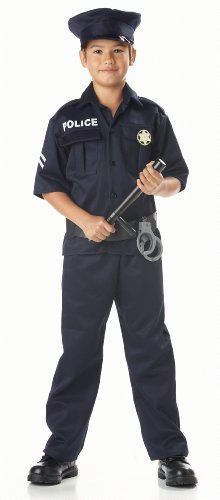 California Costumes Toys Police, Large