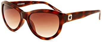 Converse Women's Wavelength Cateye Sunglasses, Tortoise