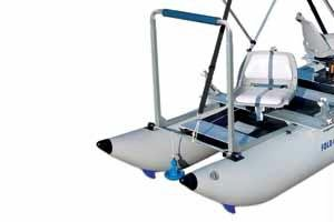 Image of Sea Eagle FoldCat Inflatable Fishing Boat Casting Bar (CASTBAR375)