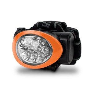 New Camelion Ultra Bright 10 Led Headlamp (Black/Orange)