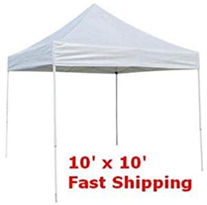 prosource easy pop up tent instant canopy 10 x 10 outdoor canopies patio. Black Bedroom Furniture Sets. Home Design Ideas