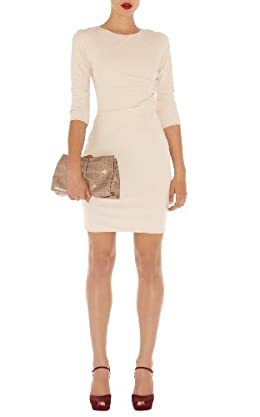 Draped Front Jersey Dress