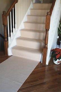 """Carpet Saver-Floor Protector-Beige-20' x 30"""" (Beige) (20'L x 30""""W)"""