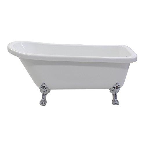 バスタブ 浴槽 バス お風呂 洋風バスタブ アンティーク風浴槽 風呂 置き型 洋式 猫脚 アクリル製 サイズ W1720×D700×H780 bath-020