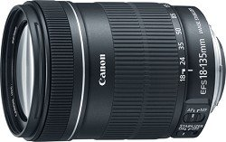Canon EF-S 18-135mm f/3.5-5.6 IS Standard Zoom Lens -NEW KIT WHITE BOX