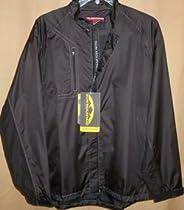 Sun Mountain Monsoon Long Sleeve Waterproof Full Zip Jacket XL (Black)