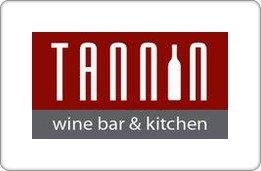 Tannin Wine Bar & Kitchen Gift Card ($25) front-990413