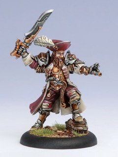 Privateer Press Mercenaries - Captain Bartolo Montador Model Kit