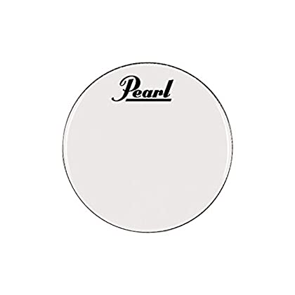 Pearl Logo Marching Bass Drum Heads 22 Inch sale 2015