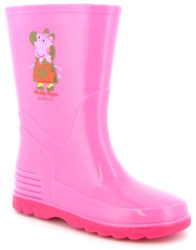 "Children's ""Peppa Pig"" Pink Wellington Boots"