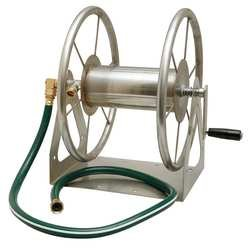 Liberty 2PAY8 Hose Reel, Multi-Mount, 16 Ga Steel (Stainless Steel Hose Reel compare prices)