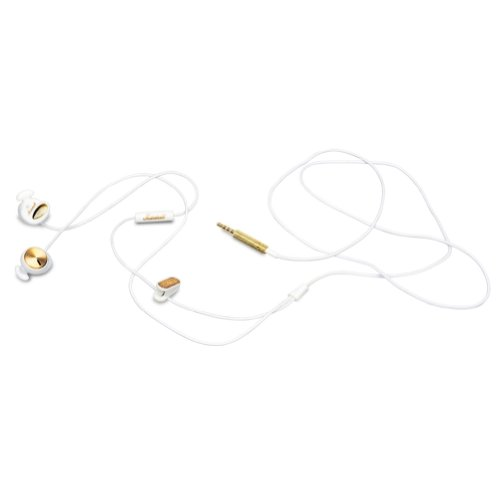 Marshall Minor With Mic Earphones/Earbuds Lifestyle Headphone - White / One Size